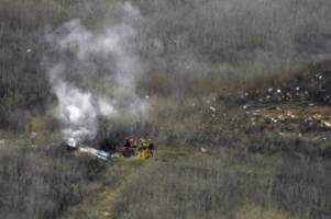 Helikopter-Absturz: Nach Bryant-Unglück: US-Behörde ermittelt zu Absturzursache