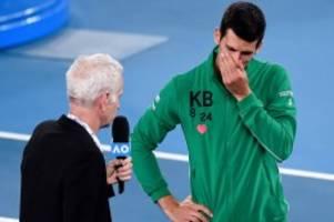 Australian Open: Novak Djokovic vergießt auf dem Platz Tränen um Kobe Bryant