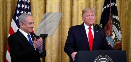 Trumps Nahostplan sieht Zwei-Staaten-Lösung vor
