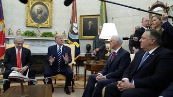 Palästinenser drohen - Trumps Nahost-Plan: Deal oder Betrug des Jahrhunderts?