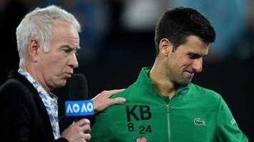 Australian-Open-Viertelfinale - Emotionales Siegerinterview: Djokovic gedenkt Bryant