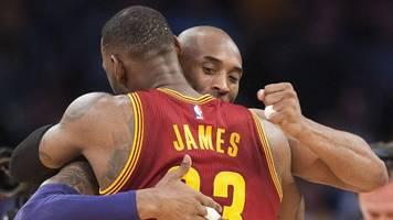 LeBron James an Kobe Bryant: Wenn ich an dich denke,  muss ich wieder weinen