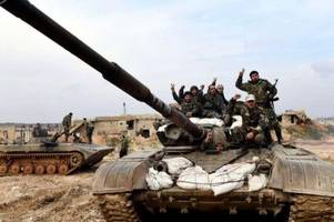 syrische truppen nehmen wichtige stadt in idlib ein