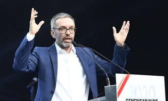 fpÖ-klubobmann kickl hält vortrag bei afd