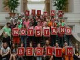 berliner abgeordnetenhaus erkennt klimanotlage an