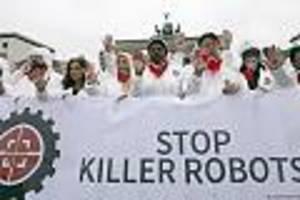 """- human rights watch: """"berlin muss verbot von killerrobotern vorantreiben"""""""