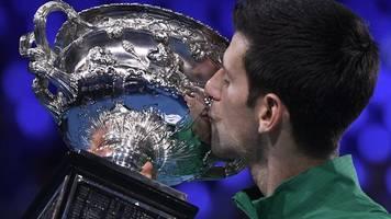 grand-slam-turnier: djokovic zum achten mal australian-open-champion