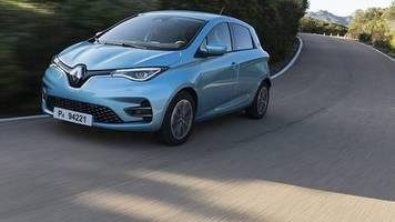 elektro-auto: renault zoe – fast lautlos mit stärkerem motor und mehr reichweite