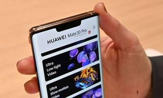 ohne google apps: drei bringt huawei mate 30 pro