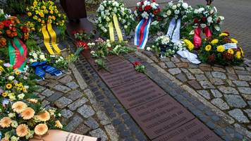 Gedenken an Opfer des Magdeburger Konzentrationslagers Magda