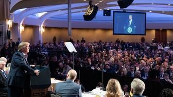 trump reagiert mit kampfansage voller beleidigungen auf impeachment-freispruch