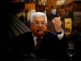 palästinenser: diplomatische intifada