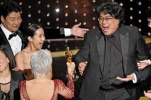 """preisverleihung: oscars: südkoreaner erobert mit """"parasite"""" hollywood"""