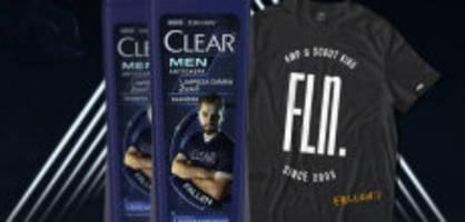 marketing mit gamer: e-sportler ersetzt ronaldo auf shampoo-flasche