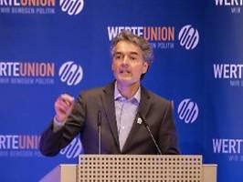 debatte um cdu-ausschluss: werteunion-chef mitsch spendete für afd