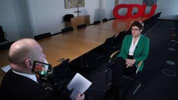 Video: CDU-Chefin startet nächste Woche Kandidatenkür