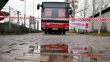 Busfahrer demonstrieren in Kiel: Warnstreik geht weiter