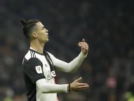 Coppa Italia-Halbfinale: Ronaldo-Coup rettet Juventus
