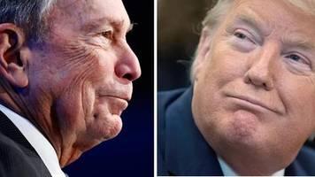 US-Wahlkampf: Verlierer gegen Jahrmarkt-Clown: Bloomberg liefert sich Twitter-Schlagabtausch mit Trump