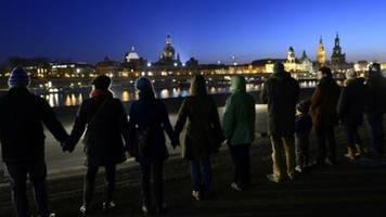Erinnern an die Zerstörung Dresdens vor 75 Jahren