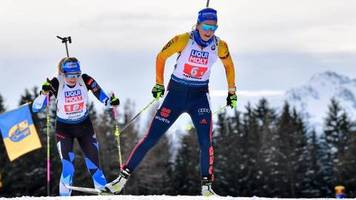 Wettbewerbe in Antholz: Mixed-Staffel zum Auftakt der Biathlon-WM Vierter