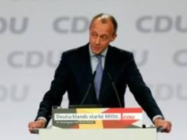 Meinung am Mittag: Merz und der CDU-Vorsitz: Solotänzer werden nicht gewinnen