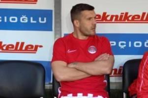 Türkischer Fußball: Ohne Podolski: Antalyaspor im Pokal-Halbfinale