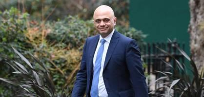 Britischer Finanzminister Javid tritt überraschend zurück