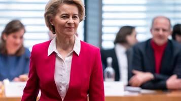 Berateraffäre: Ursula von der Leyen räumt Fehler ein