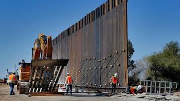 Trumps Wahlversprechen: Pentagon will Milliarden für Grenzmauer zu Mexiko umwidmen