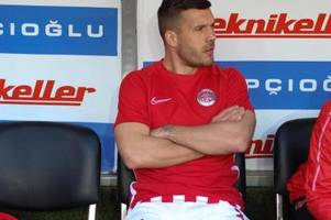 Ohne Podolski: Antalyaspor im Pokal-Halbfinale