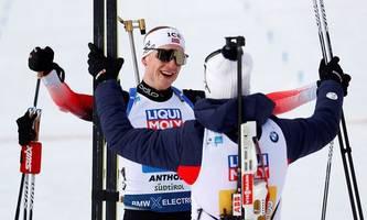 norwegen gewinnt wm-mixed-staffel
