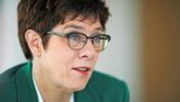 Parteivorsitz: Annegret Kramp-Karrenbauer will am Rosenmontag Vorschlag vorlegen