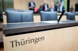 Nach Ministerpräsidentenwahl: Ausdruck der Krise: Thüringens Bundesratsbank bleibt leer