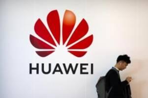Netzwerkausrüster: USA erhöhen Druck auf Huawei