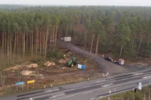 us-elektroautobauer: bäume auf tesla-gelände sollen bis ende februar gerodet sein