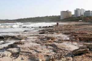 Urlaubsinsel: Mallorca: Viele Strände noch immer komplett zerstört