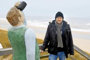 Unwetter: Sylt, Amrum, Föhr: Sabine reißt Nordsee-Strände weg