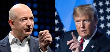 Bezos gegen Trump: Eins zu Null
