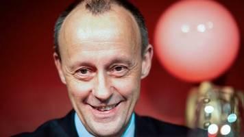 CDU: Friedrich Merz führt in Umfrage über Rennen um CDU-Vorsitz