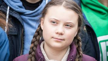 hamburg: greta thunberg kommt zu fridays for future