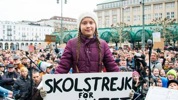 klimaproteste: thunberg kommt zur fridays-for-future-demo nach hamburg