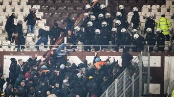 2. Liga: Verletzte bei Randale nach Spiel St. Pauli gegen Dresden