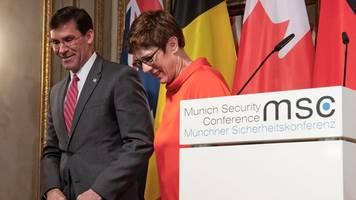 münchner sicherheitskonferenz - us-verteidigungsminister: kampf bis zur niederlage des is