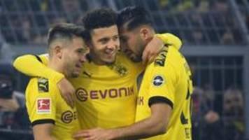 Bundesliga: Borussia Dortmund überrollt Eintracht Frankfurt
