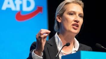 AfD in Baden-Württemberg: Alice Weidel zur Landesvorsitzenden gewählt