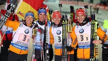 Biathlon: Nachträglich olympische Gold-Medaille für deutsche Staffel?