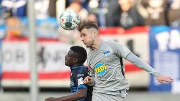 Nach Klinsmann-Flucht: Hertha BSC gewinnt in Paderborn