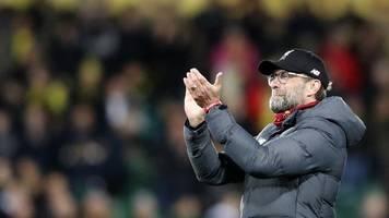 nach uefa-sperre: klopp hat mitleid mit guardiola und man-city-profis