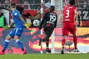 Leverkusen mit spätem Sieg bei Union Berlin
